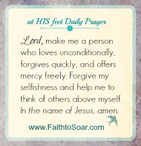 at HIS feet Daily Prayer 052915