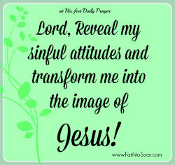 Transformed at the feet of Jesus
